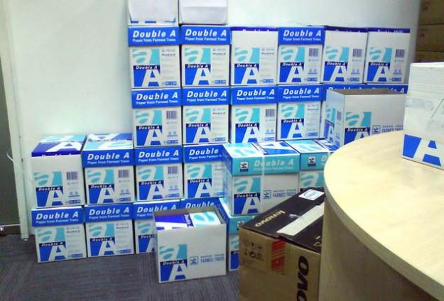 About this many boxes of documents (or a few more) respond to recent document requests.