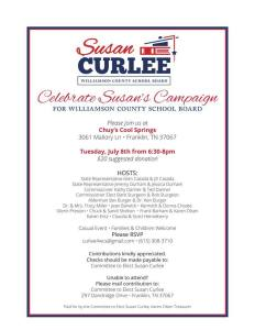 SC campaign party invite